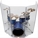 Acrylic Drum Shield Peace ds-1 5-piece